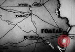 Image of Battle of Gomel Russia, 1943, second 5 stock footage video 65675046483