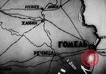 Image of Battle of Gomel Russia, 1943, second 6 stock footage video 65675046483