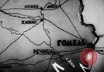 Image of Battle of Gomel Russia, 1943, second 7 stock footage video 65675046483