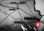 Image of Battle of Gomel Russia, 1943, second 8 stock footage video 65675046483