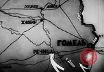 Image of Battle of Gomel Russia, 1943, second 9 stock footage video 65675046483