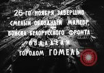 Image of battle of Gomel Russia, 1943, second 7 stock footage video 65675046484