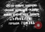 Image of battle of Gomel Russia, 1943, second 8 stock footage video 65675046484