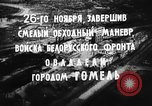 Image of battle of Gomel Russia, 1943, second 11 stock footage video 65675046484