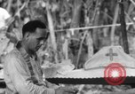 Image of confession and mass Bougainville Island Papua New Guinea, 1944, second 5 stock footage video 65675046499