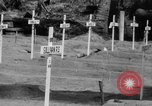 Image of Bougainville Cemetery Solomon Islands, 1944, second 12 stock footage video 65675046500