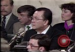 Image of Iran-Contra affair Washington DC USA, 1987, second 9 stock footage video 65675046512
