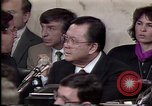 Image of Iran-Contra affair Washington DC USA, 1987, second 11 stock footage video 65675046512