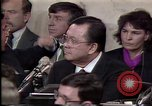 Image of Iran-Contra affair Washington DC USA, 1987, second 12 stock footage video 65675046512