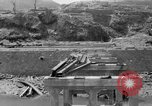 Image of city damage after atomic bomb strike Nagasaki Japan, 1945, second 3 stock footage video 65675046543