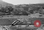 Image of city damage after atomic bomb strike Nagasaki Japan, 1945, second 4 stock footage video 65675046543