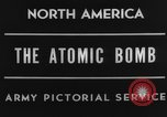 Image of First atomic bomb test Alamogordo New Mexico USA, 1945, second 1 stock footage video 65675046553