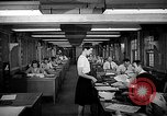 Image of accounts department Oak Ridge Tennessee USA, 1946, second 6 stock footage video 65675046557
