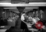 Image of accounts department Oak Ridge Tennessee USA, 1946, second 7 stock footage video 65675046557