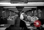 Image of accounts department Oak Ridge Tennessee USA, 1946, second 8 stock footage video 65675046557