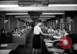 Image of accounts department Oak Ridge Tennessee USA, 1946, second 9 stock footage video 65675046557