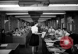 Image of accounts department Oak Ridge Tennessee USA, 1946, second 10 stock footage video 65675046557