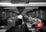 Image of accounts department Oak Ridge Tennessee USA, 1946, second 11 stock footage video 65675046557
