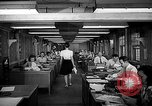 Image of accounts department Oak Ridge Tennessee USA, 1946, second 12 stock footage video 65675046557