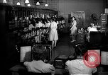 Image of telephone room Oak Ridge Tennessee USA, 1946, second 7 stock footage video 65675046558