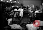 Image of telephone room Oak Ridge Tennessee USA, 1946, second 10 stock footage video 65675046558