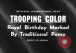Image of birthday of Queen London England United Kingdom, 1959, second 3 stock footage video 65675046561