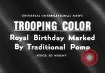 Image of birthday of Queen London England United Kingdom, 1959, second 4 stock footage video 65675046561