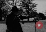 Image of falconry Austria Black Forest, 1959, second 8 stock footage video 65675046563