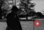 Image of falconry Austria Black Forest, 1959, second 9 stock footage video 65675046563