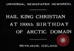 Image of King Christian Reykjavik Iceland, 1930, second 3 stock footage video 65675046568