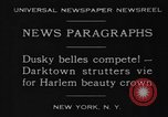 Image of Harlem Beauty Crown New York United States USA, 1930, second 4 stock footage video 65675046570