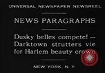 Image of Harlem Beauty Crown New York United States USA, 1930, second 5 stock footage video 65675046570