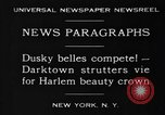 Image of Harlem Beauty Crown New York United States USA, 1930, second 7 stock footage video 65675046570