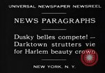 Image of Harlem Beauty Crown New York United States USA, 1930, second 8 stock footage video 65675046570
