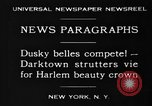 Image of Harlem Beauty Crown New York United States USA, 1930, second 11 stock footage video 65675046570