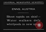 Image of Water Walk Enns Austria, 1930, second 1 stock footage video 65675046571