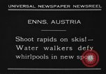 Image of Water Walk Enns Austria, 1930, second 10 stock footage video 65675046571