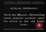 Image of Max Schmeling Berlin Germany, 1930, second 1 stock footage video 65675046572