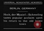 Image of Max Schmeling Berlin Germany, 1930, second 3 stock footage video 65675046572