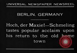 Image of Max Schmeling Berlin Germany, 1930, second 6 stock footage video 65675046572