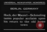 Image of Max Schmeling Berlin Germany, 1930, second 9 stock footage video 65675046572