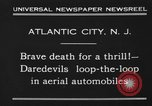 Image of aerial automobile jump Atlantic City New Jersey USA, 1930, second 7 stock footage video 65675046573