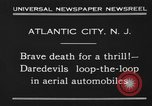 Image of aerial automobile jump Atlantic City New Jersey USA, 1930, second 8 stock footage video 65675046573