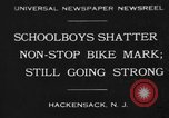 Image of Jackson High School boys Hackensack New Jersey USA, 1930, second 1 stock footage video 65675046574