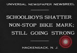 Image of Jackson High School boys Hackensack New Jersey USA, 1930, second 4 stock footage video 65675046574