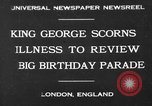 Image of King George London England United Kingdom, 1930, second 1 stock footage video 65675046576