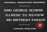 Image of King George London England United Kingdom, 1930, second 3 stock footage video 65675046576
