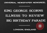 Image of King George London England United Kingdom, 1930, second 4 stock footage video 65675046576