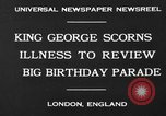 Image of King George London England United Kingdom, 1930, second 7 stock footage video 65675046576