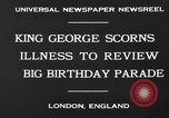 Image of King George London England United Kingdom, 1930, second 8 stock footage video 65675046576